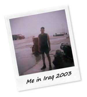 westlake village personal trainer, me in iraq 2003